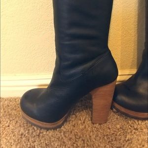 Tall Leather Lucky Brand Boots